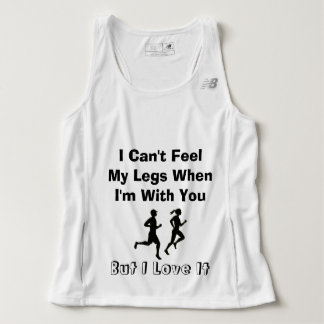 I Can't Feel My Legs - New Balance Tank Top