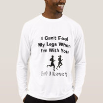 I Can't Feel My Legs - Sport-Tek LS Running T-Shirt