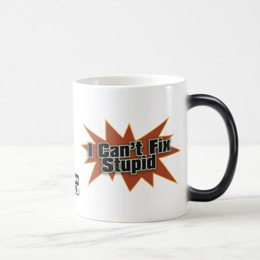 I Can't Fix Stupid Drinkwear 2 11 Oz Magic Heat Color-Changing Coffee Mug