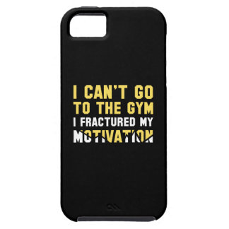 I Can't Go To The Gym iPhone SE/5/5s Case