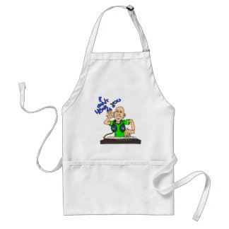 i cant hear you aprons