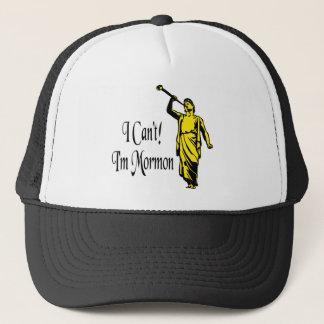 I Can't, I'm Mormon Trucker Hat