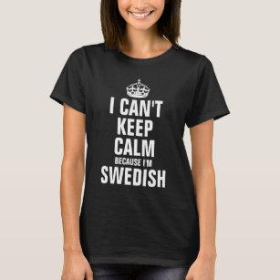 ab3e5c6ca Swedish Keep Calm Gifts T-Shirts - T-Shirt Design & Printing | Zazzle