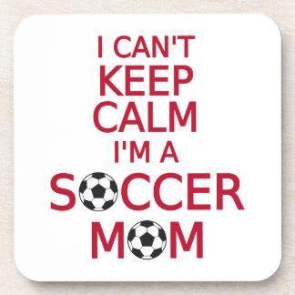 I can't keep calm, I am a  soccer mom Coaster