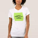 i cant keep calm im a gemini t shirt