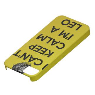 I can't keep calm i'm a leo iPhone 5 case
