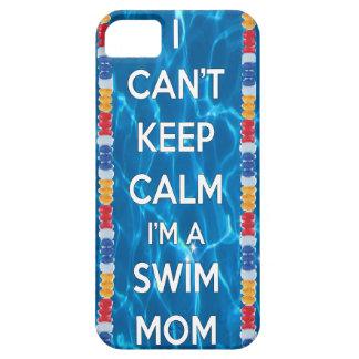 I can't keep calm I'm a swim mom iPhone SE/5/5s Case