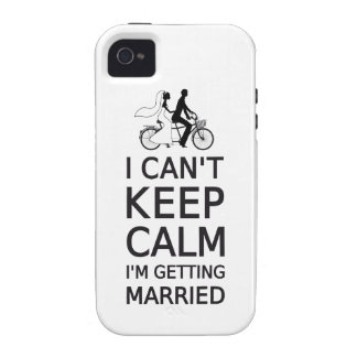 I can't keep calm, I'm getting married Vibe iPhone 4 Cover
