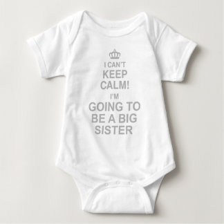 I Cant Keep Calm Im Going To Be A Sister Shirt