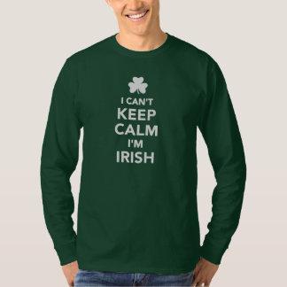 I can't keep calm I'm irish T-Shirt