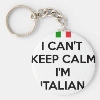 I CAN'T KEEP CALM... I'M ITALIAN KEYCHAIN