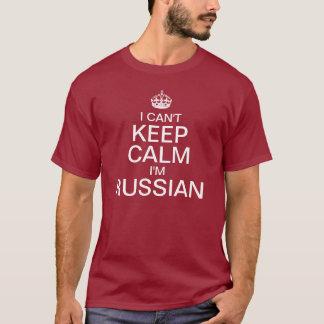 I can't keep calm I'm Russian T-Shirt