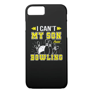 I Cant My Son Has Bowling Bowling Mom iPhone 8/7 Case