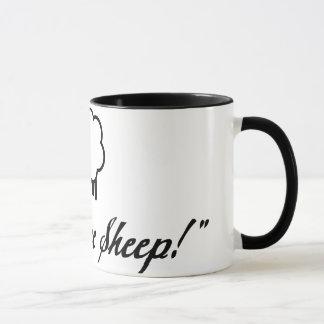 I Can't See Sheep! Mug
