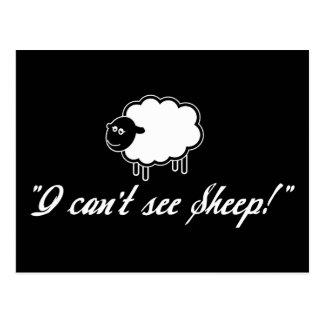 I Can't See Sheep! Postcard