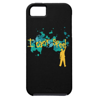 I can't Speel iPhone SE/5/5s Case