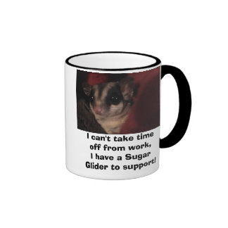 I can't take time off from wor... ringer mug