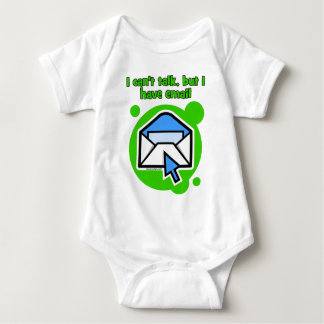 I can't talk but I have email Baby Bodysuit