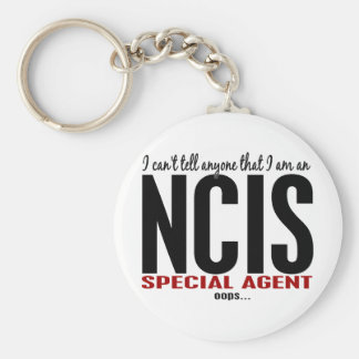 I Cant Tell Anyone NCIS Agent Key Chain