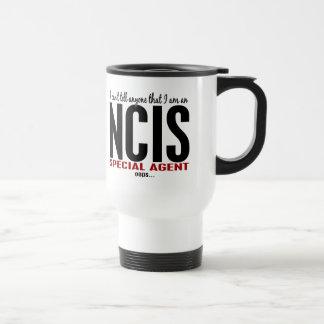I Cant Tell Anyone NCIS Agent Coffee Mug