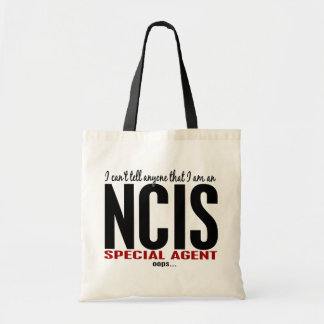 I Cant Tell Anyone NCIS Agent Tote Bag