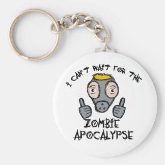 I can't wait for the ZOMBIE APOCALYPSE! Keychain