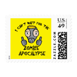 I can't wait for the ZOMBIE APOCALYPSE! Postage