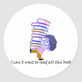 I can't wait to read stickers