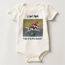 I Can't Wait To Ride In My First Foxhunt! Baby Bodysuit