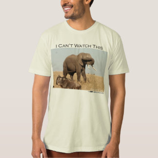 I can't watch this - elephant T-Shirt