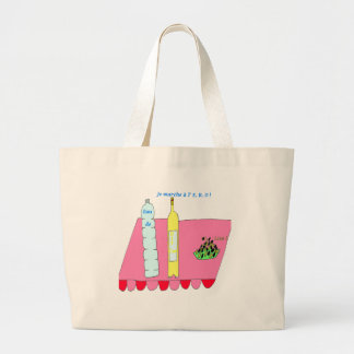 I CARBURIZE A L ERO 1.PNG LARGE TOTE BAG