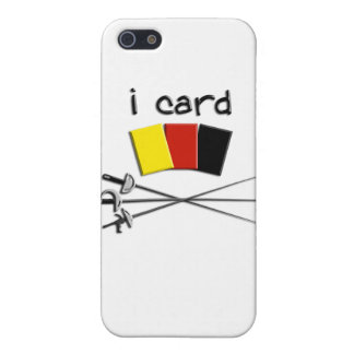 i card fencing referee iphone4 case iPhone 5 covers