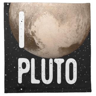 I Cardiac Pluto Cloth Napkin