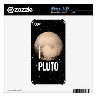 I Cardiac Pluto Skin For iPhone 4S