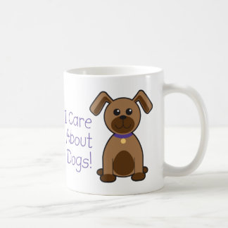 I Care About Dogs Coffee Mug