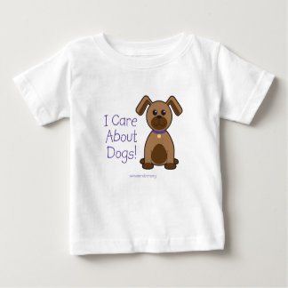 I Care About Dogs T-shirt