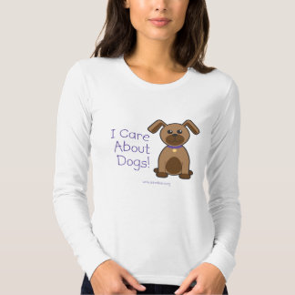 I Care About Dogs Tee Shirt