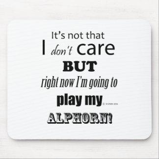 I Care Alphorn Mouse Pad
