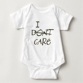 I Care Baby Bodysuit