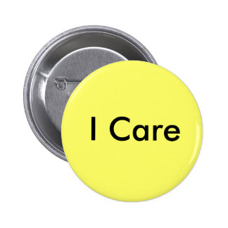 I Care Pinback Buttons