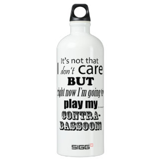 I Care Contrabassoon Water Bottle