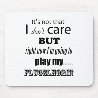 I Care Flugelhorn Mouse Pad