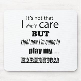 I Care Harmonica Mouse Pad