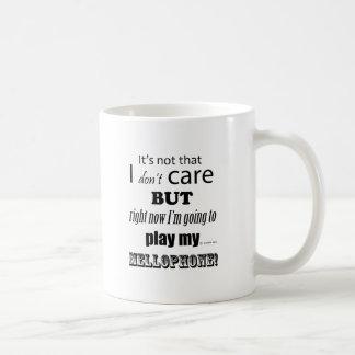 I Care Mellophone Coffee Mug