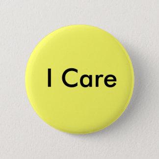 I Care Pinback Button