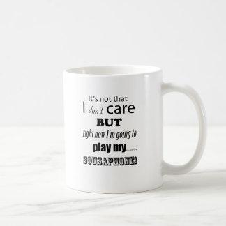 I Care Sousaphone Coffee Mug