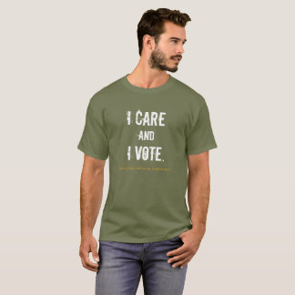I care tee, available in womens as well. T-Shirt