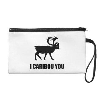 I Caribou You Wristlet