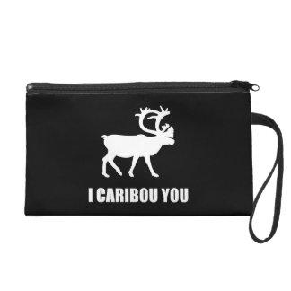 I Caribou You Wristlet Purse