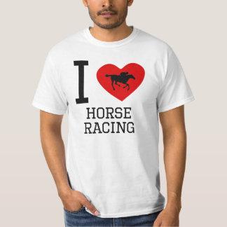 I carrera de caballos del corazón playera